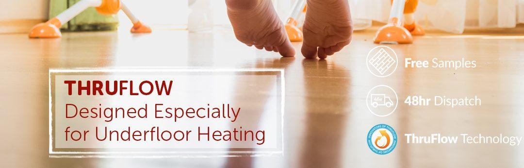 Which flooring type is best for underfloor heating?