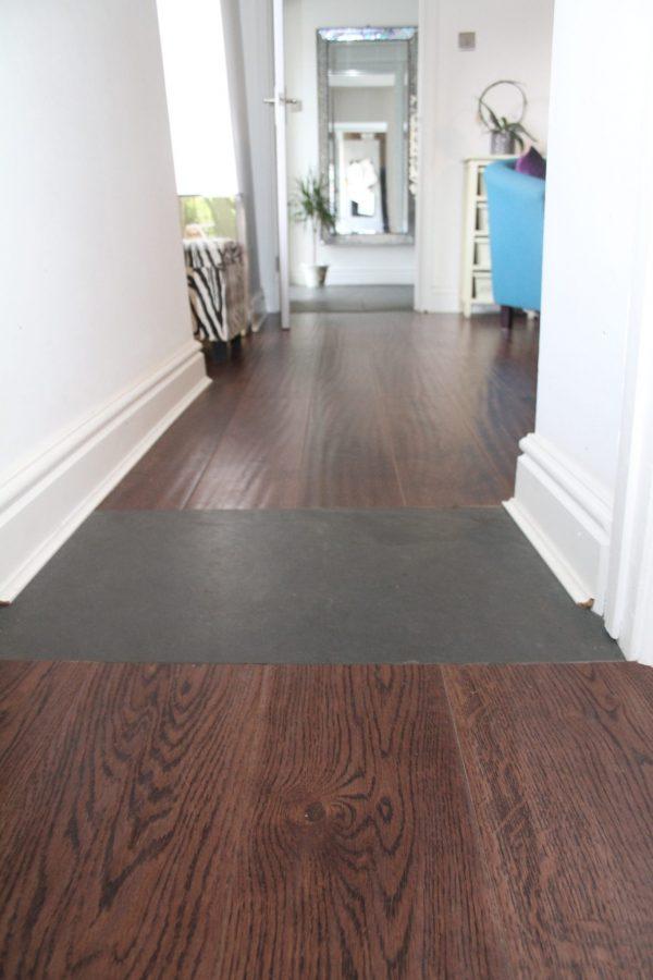 vintage engineered oak flooring dark