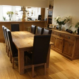 Oak Flooring for Your Dining Room - 15 x 189 Brushed & Natural Oiled Engineered Oak Flooring