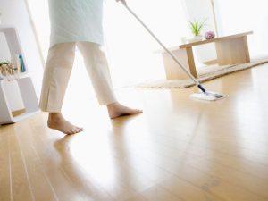Oak Floors Shine Cleaning