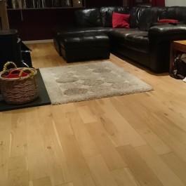 Oak Flooring for your Living Room - 18 x 120 Unfinished Solid Oak Flooring