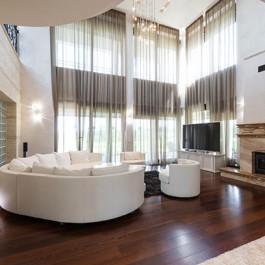 Oak Flooring for your Living Room - 15 x 189 Hand Scraped Vintage Engineered Oak Flooring