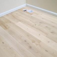 Unfinished Square Edge Engineered Oak Flooring