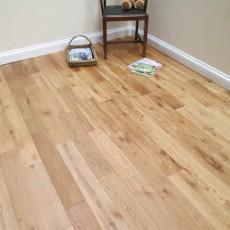 Natural Brushed & Oiled Solid Oak Flooring