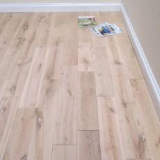 18 x 150 Unfinished Solid Oak Flooring