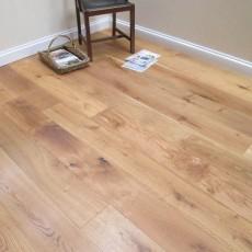 Natural Engineered Oak Flooring Brushed & Natural Oiled