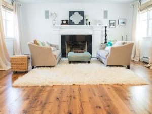 Celtic Character Rustic Oak Floor Living Room