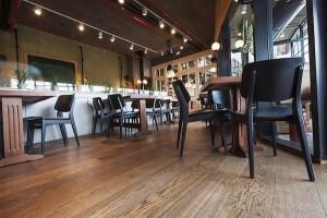 Restaurant Oak Flooring