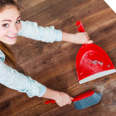 Five Steps Keeping Oak Floors Clean Autumn