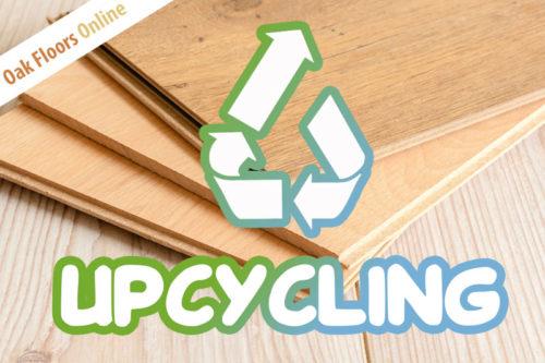 Upcycling Utilise Left Over Wood Flooring