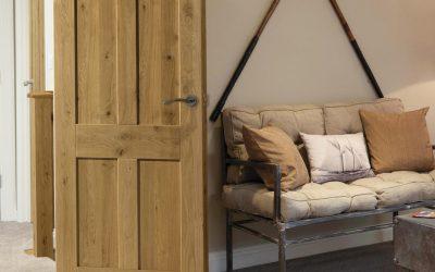 Oak Rustic 4 Panel Door