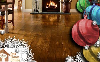 Oak Floor The Halls This Christmas