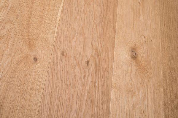 Brushed & Natural Oiled Thru-Flow detail